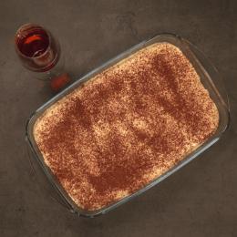 Tiramisu with pommeau